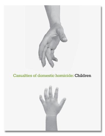 Casualties of domestic homicide: Children