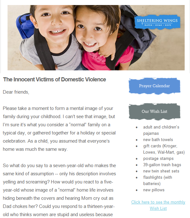 The Innocent Victims of Domestic Violence
