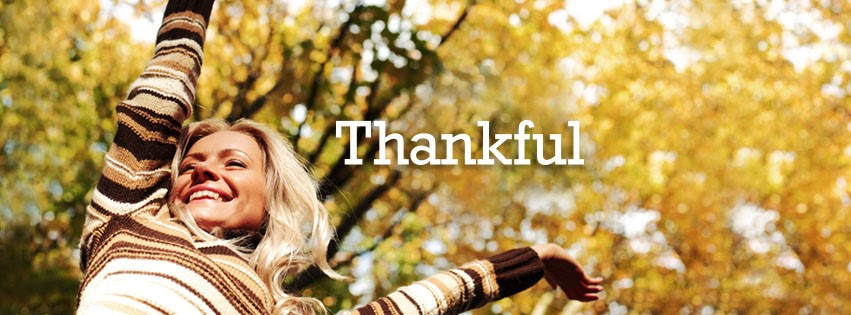 Remembering to Be Thankful…